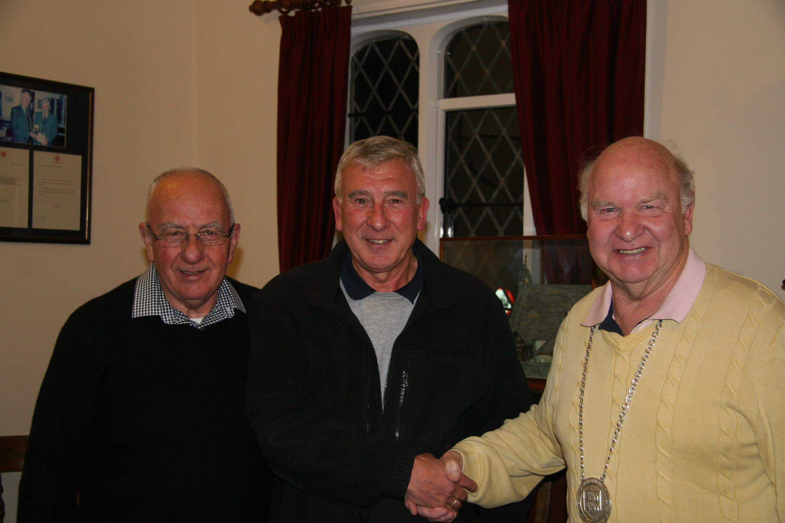 Richard Cooper welcomed to the Feoffees