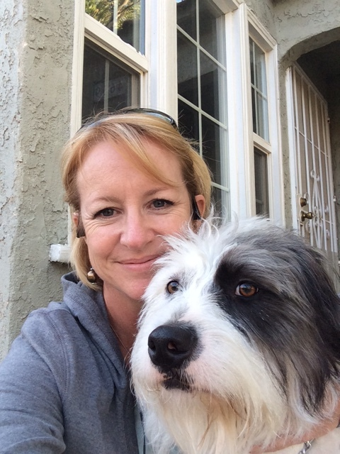 """MICHELE DUNLOW - """"It has been mentioned to me that I may be addicted to yoga. That is probably true to some extent. I do practice at the Yoga Roots on average of 5-6 days/week and if anyone asks what I'm doing on the weekend, I will always tell them, """"yoga"""". I even sold my house in Quartz Hill and moved to be closer to the studio. So… My name is Michele and I'm an addict. LOLI've been practicing at the Yoga Roots for a little over 2 years. My non-yogi friends have commented that it """"must be relaxing"""". I just giggle and say, """"I do sleep well, but it isn't because it is relaxing, it's because it kicks my butt!"""".  I'm a bit competitive and like to have someone push me, whether it be a fellow classmate taking a pose deeper or the instructor suggesting a modification to take my practice to the next level. Yes, I know yoga isn't a competition with anyone else or even with myself, but I love the challenge.It isn't just the great workout that keeps me coming back. This place just feels like home. It's the people who make it feel welcoming.  I've watched several of the instructors really come into their own and find their rhythm.  I also appreciate every one of my classmates and enjoy learning who they are celebrating their accomplishments. We've traveled together and we've been reminded of the importance of gratitude in or lives. The Yoga Roots is my """"Cheers"""" just without the beer (well…sometimes there is beer ;-) """""""