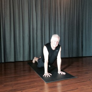 """RICH SILVA - """"I started doing yoga in 2009 after I retired. My chiropractor and masseuse both thought yoga would be good for my hands, neck, and lower back and they were right on. The first five to six months I was in some pain but then all the posing and stretching align my body and slowly most of the pain went away.The Yoga Roots is one of the best studios where I've had the pleasure to practice the asanas. The teachers are knowledgeable, patient and know how to push you to the point where you ask yourself why in the hell am I doing this. I enjoy practicing with other students, they are very friendly and seem like family. All of this happens because of the Yoga Roots Staff.PS,I wish someone would learn how to turn the air conditioner on."""""""
