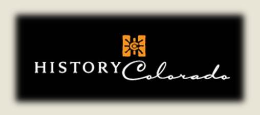 The logo for History Colorado. Members of History Colorado ride the Georgetown Loop at a discounted rate.