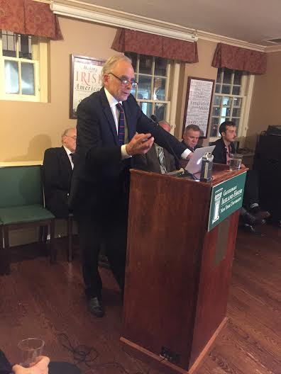 March 3, 2016 New York Peacerunner Book Launch at Glucksman Ireland House, NYU