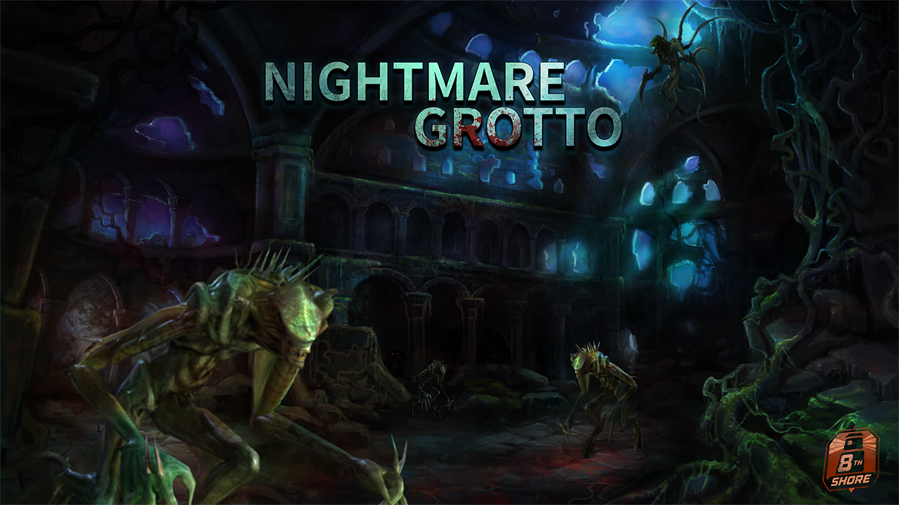 Nightmare Grotto - VR     Survive an onslaught of monsters!    Fight for your life against a never-ending horde of monsters in this action-packed horror wave shooter. Use dual pistols or an assault rifle (requires PP Gun peripheral, sold separately) and aim for a high score!     Nightmare Grotto - Steam Page     Also available at VR arcades!