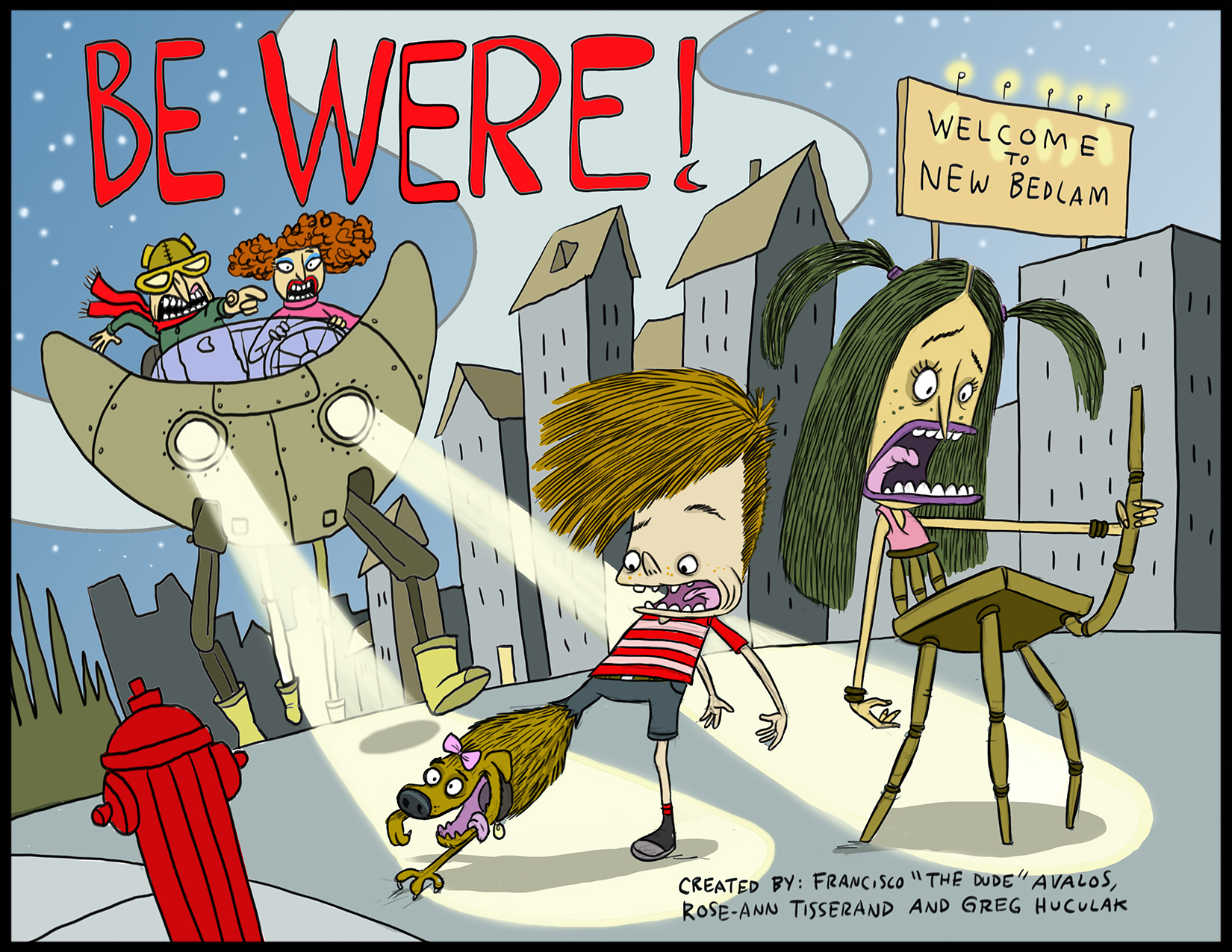 Flying Kraken Original Boys Comedy Series