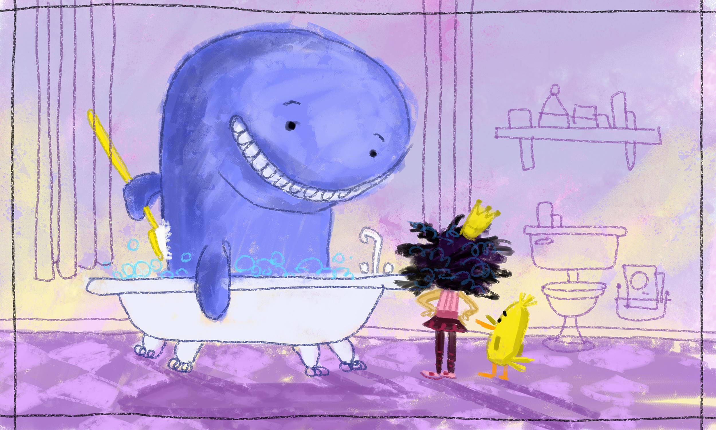 Blue whale in bath tub.jpg