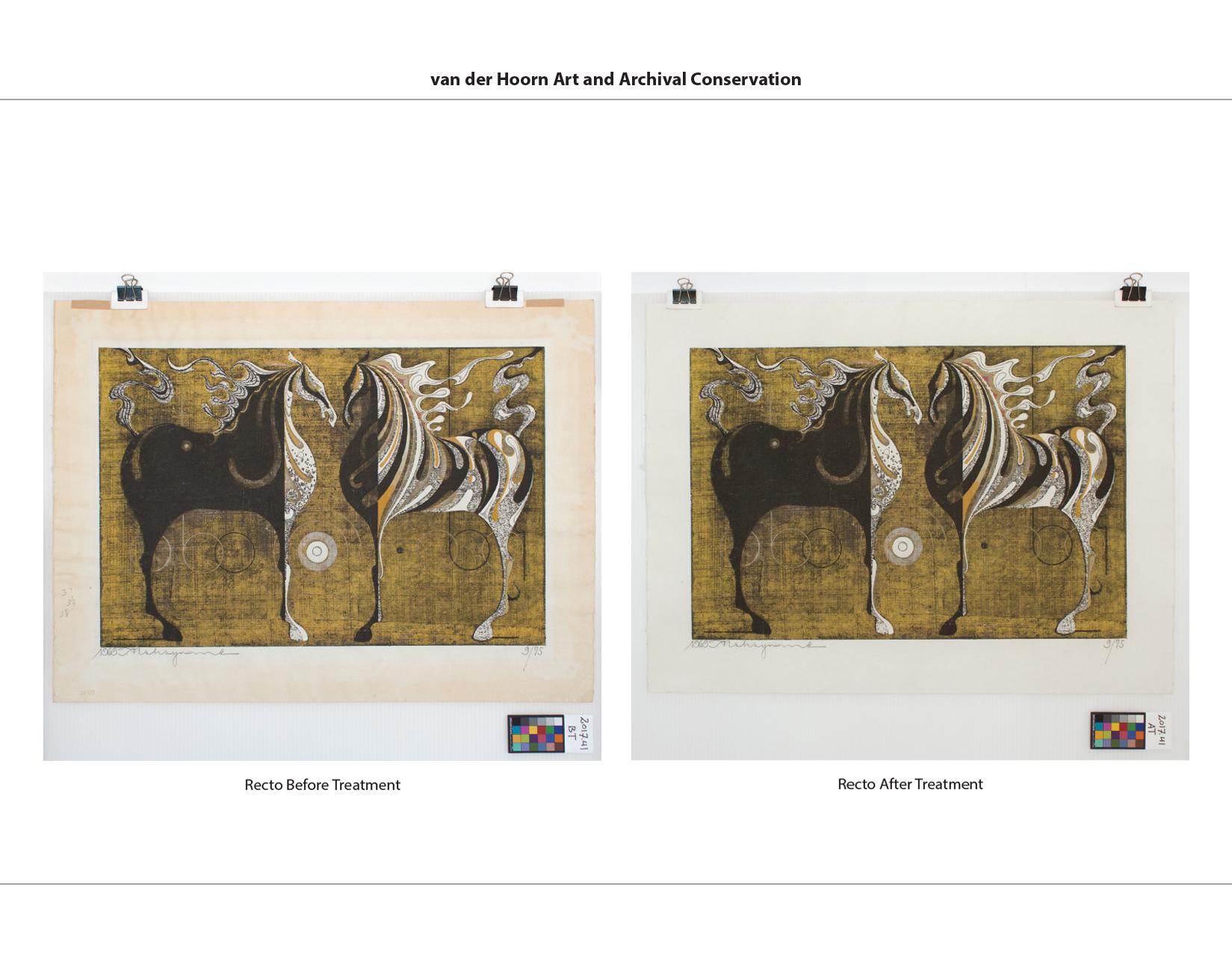 Nakayama Woodblock Print