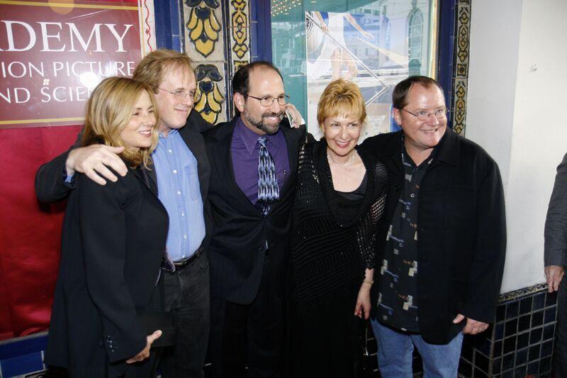 With Brad Bird & John Lasseter of Pixar