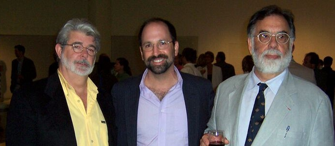 With George Lucas & Francis Ford Coppola