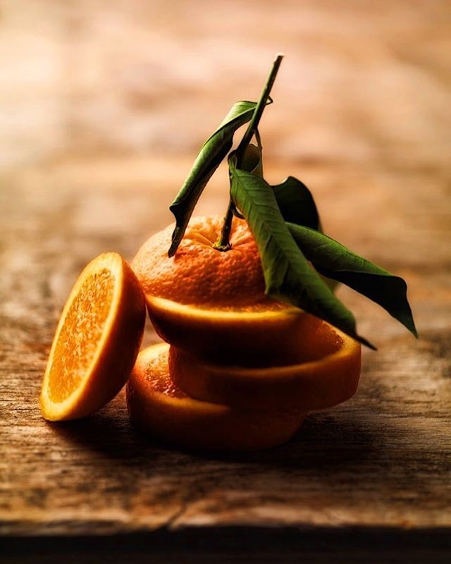Orange you glad it's autumn?! 🍊 | Orange strengthens your emotional body, encouraging a general feeling of joy, well-being, and cheerfulness so you can keep DANCING!