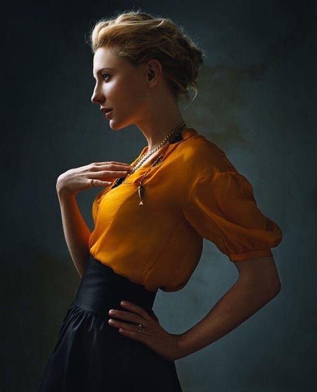 😍 W O W 😍 | #CateBlanchett is serious #girlboss #goals! | 📸 by @normanjeanroy for @voguerussia.