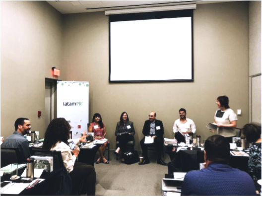 Day #1 of the conference kicks off.   Panelists from DHL, Outload Communications, Sio Capital and HotelQuando share what makes a Latin American agency competitive in the U.S.