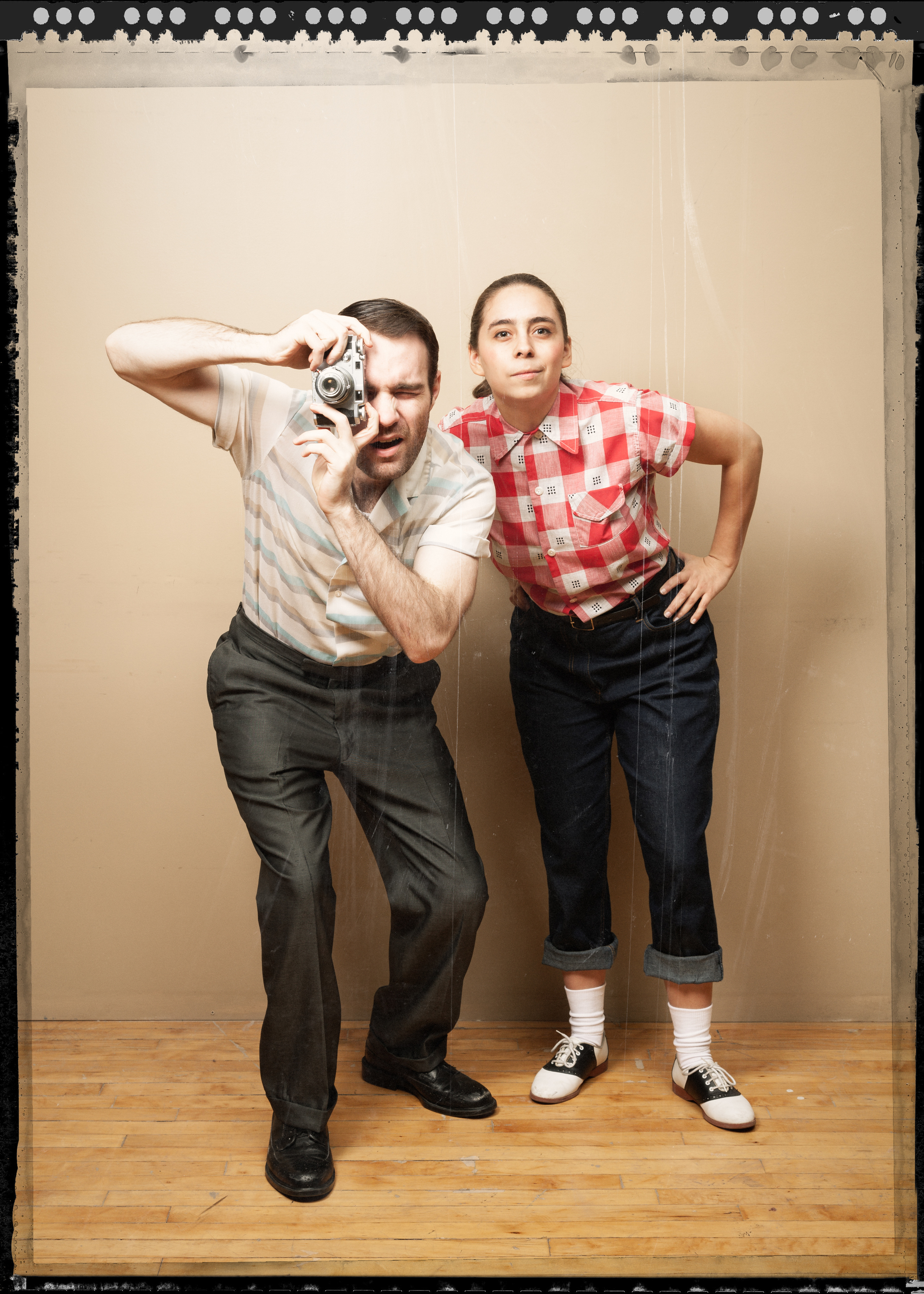"Promotional Photo for ""Point & Shoot"" - Cold Basement Theatre Company"