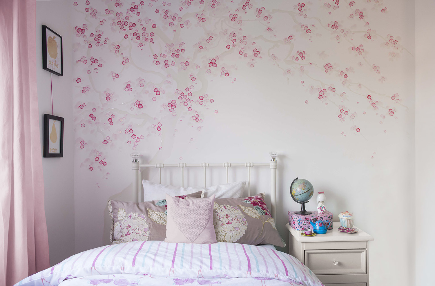 Cherry Blossom Girl S Bedroom Projects Diane Hill Hand
