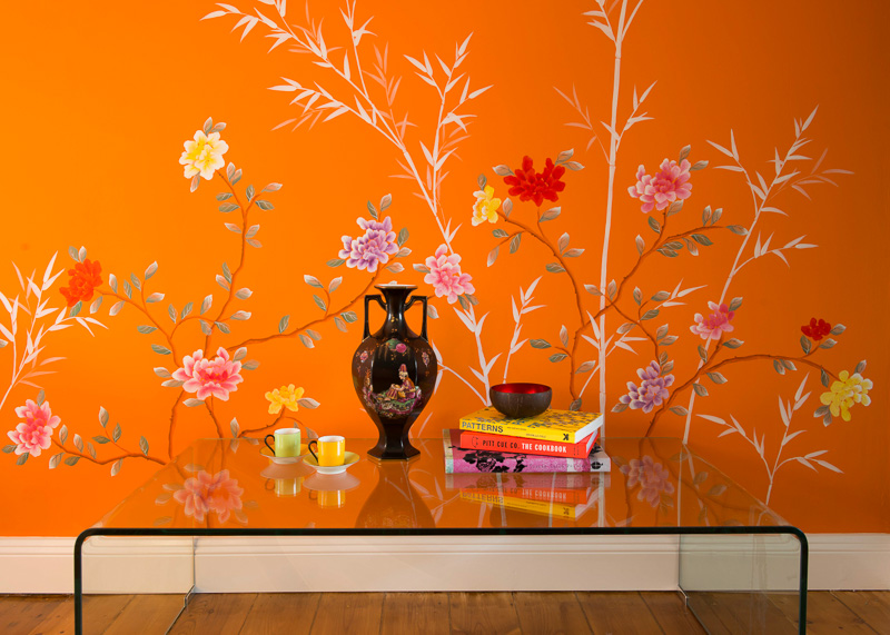 Orange Chinoiserie, Family Home