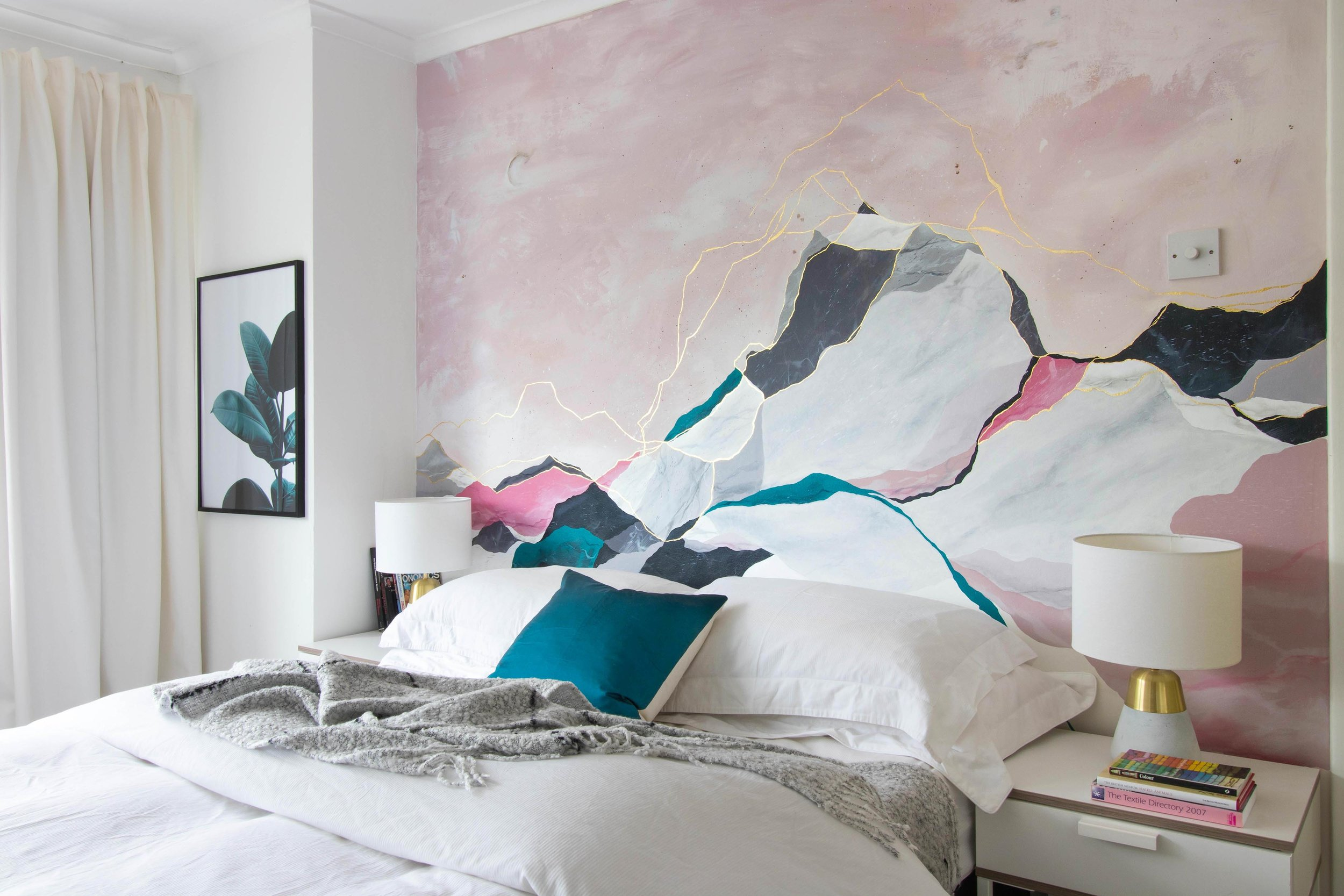 Painterly Bedroom Renovation