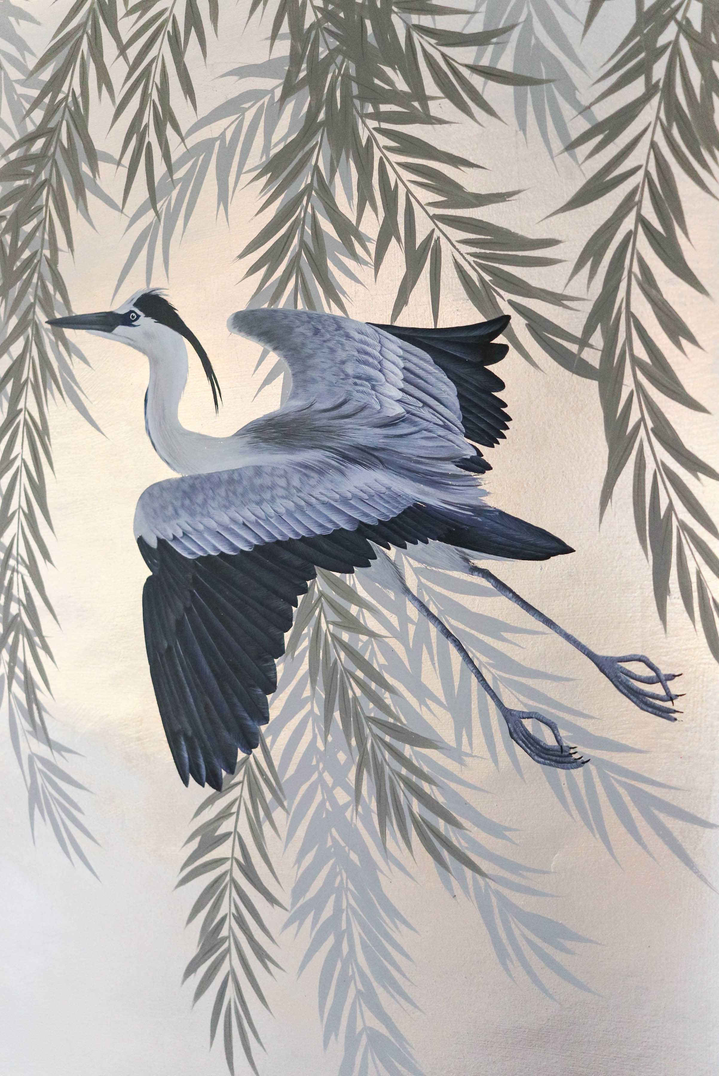 Great Blue Heron, Artwork