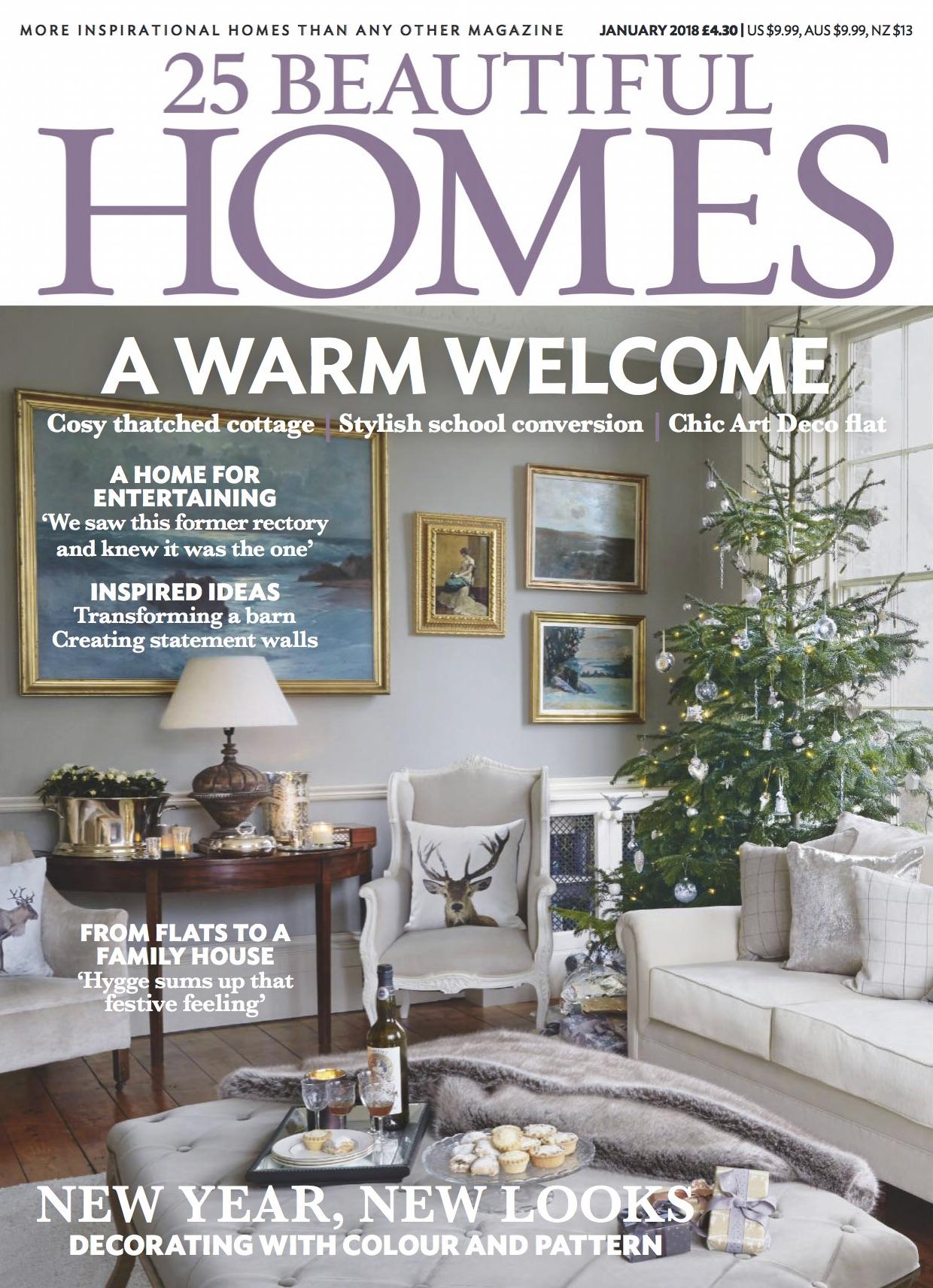 A four page tour around Diane's home, Jan 2018