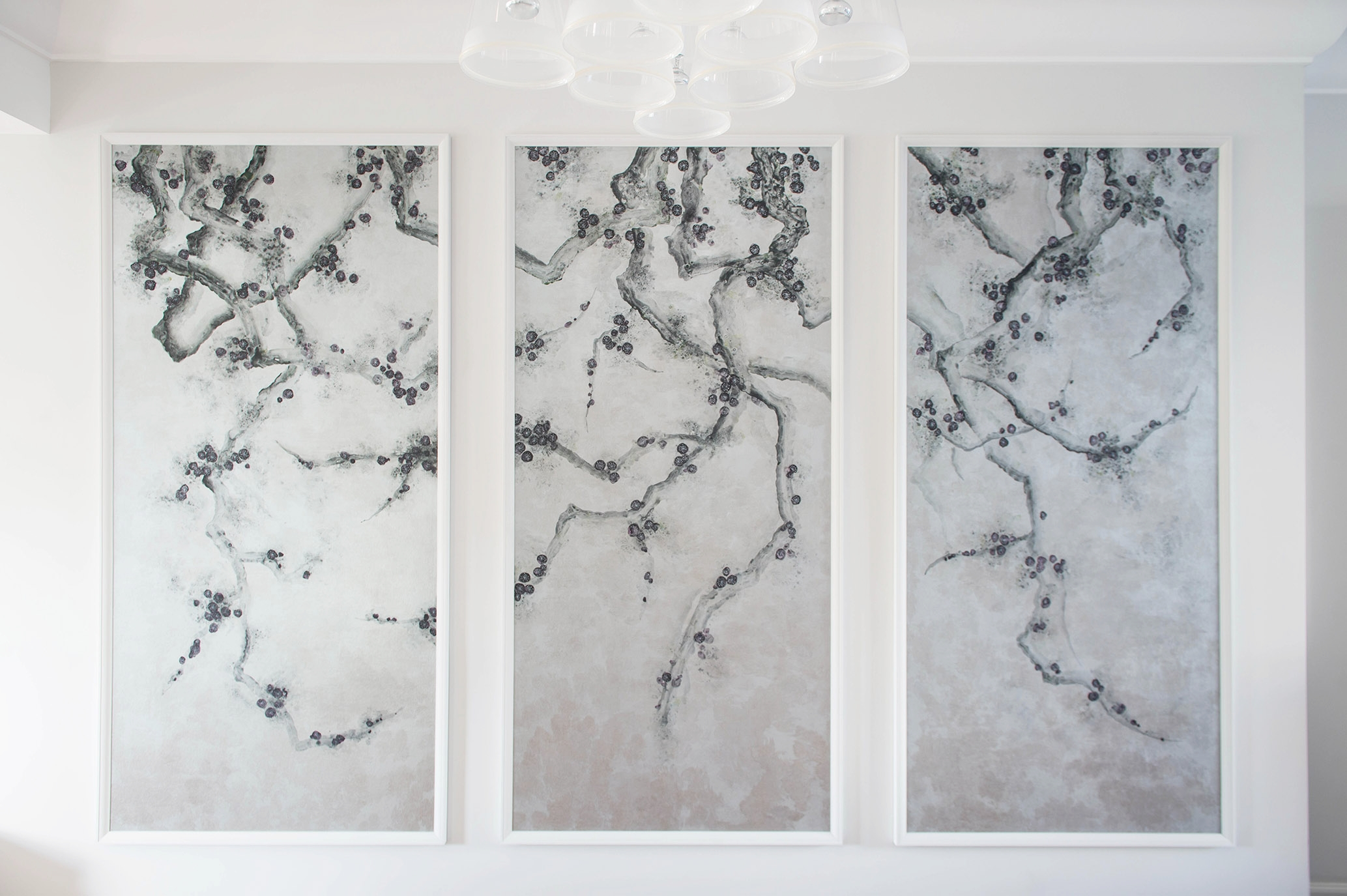 Abstract Blossom Tree Wallpaper, Belsize Park