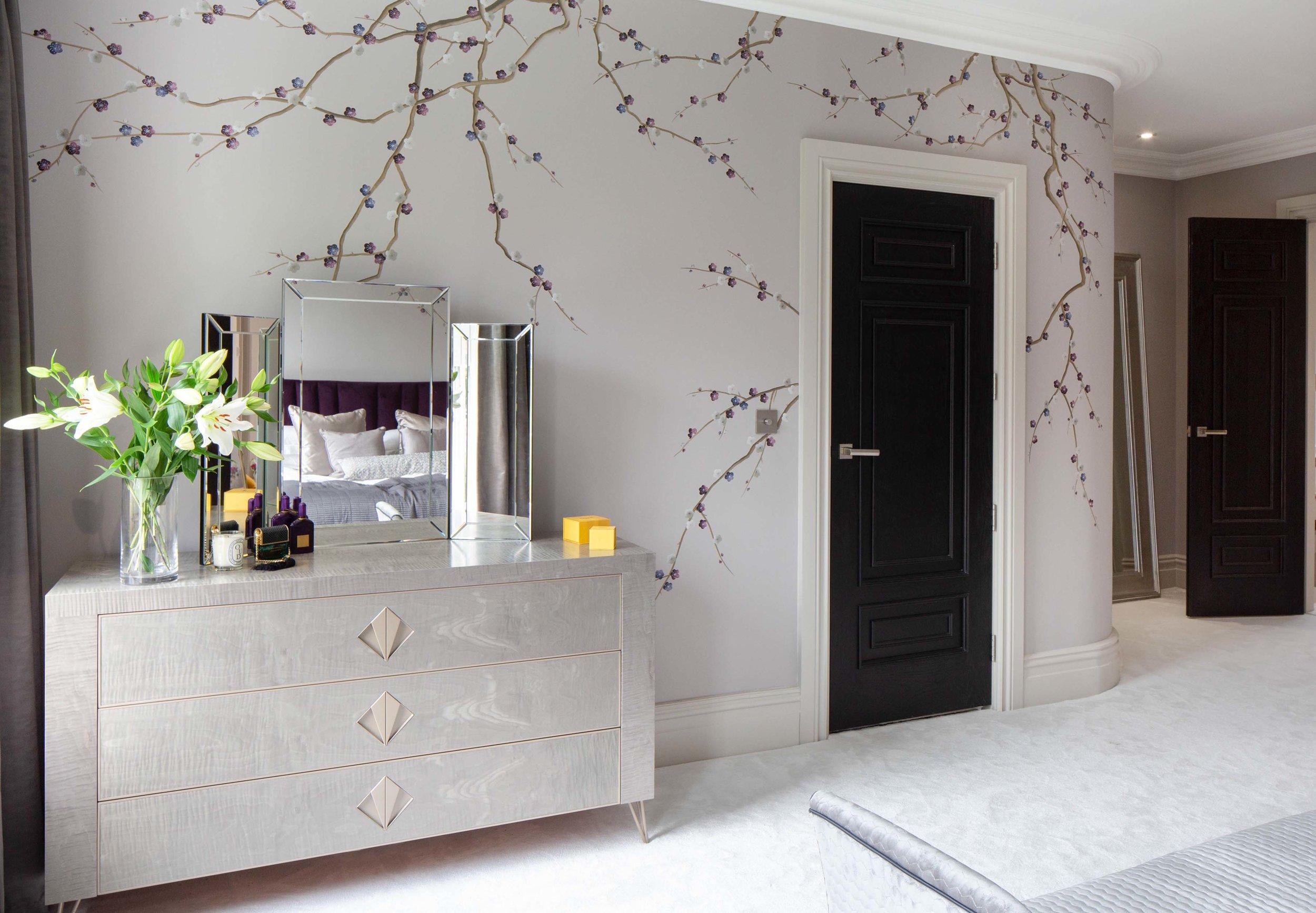 Diane Hill Design Cherry Blossom Mural