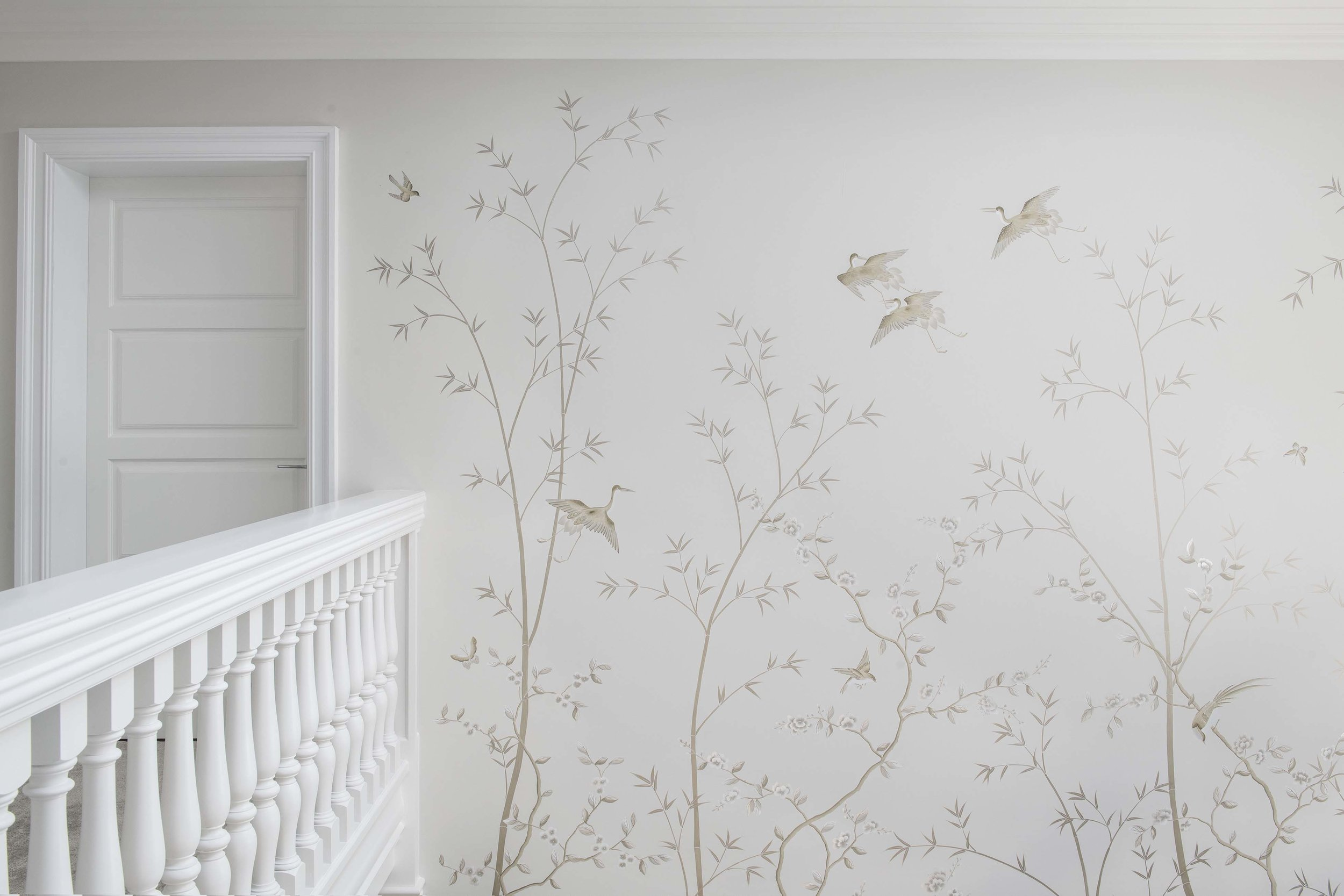 Diane Hill Design Chinoiserie Entrance Mural