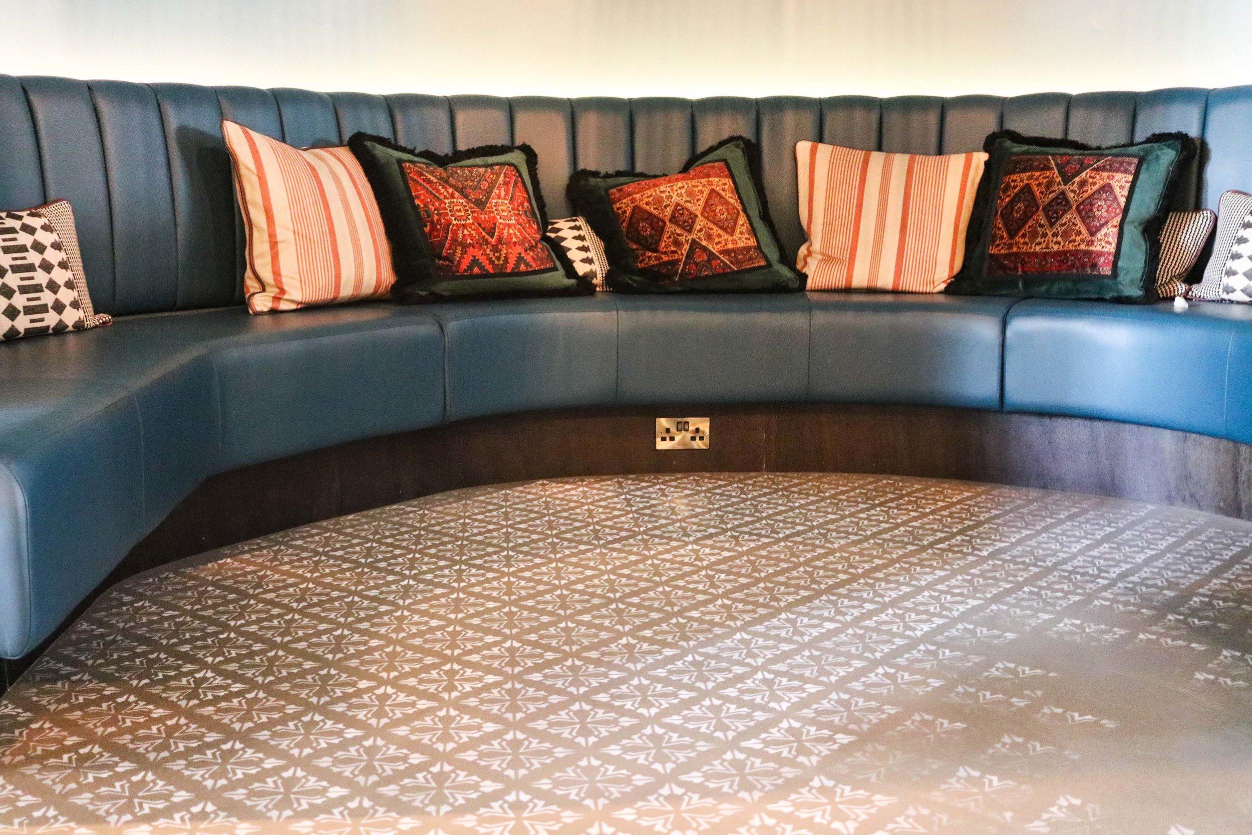 Diane Hill Design Stencilled hand-painted floor