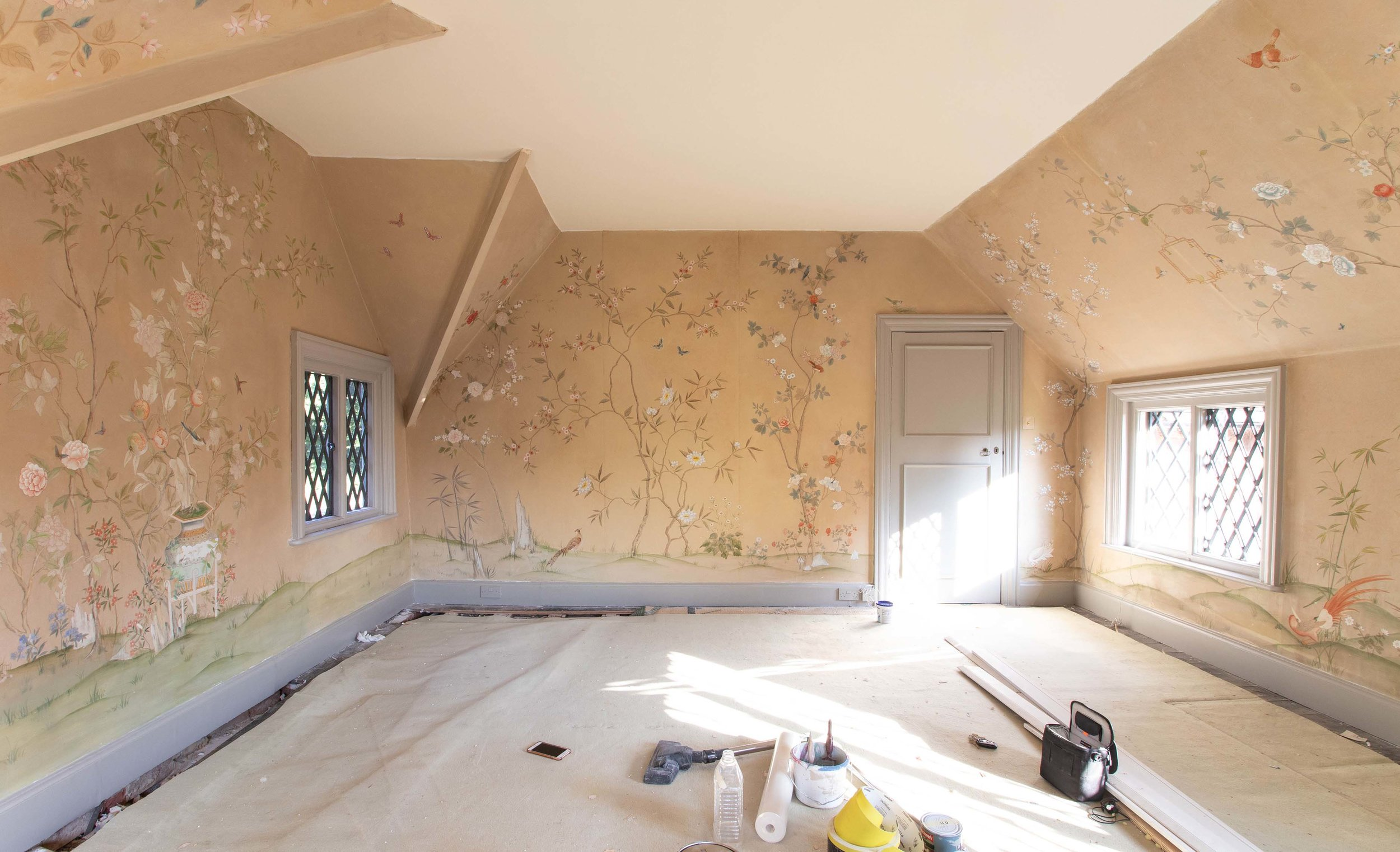 Antique Chinoiserie Restoration Diane Hill Design