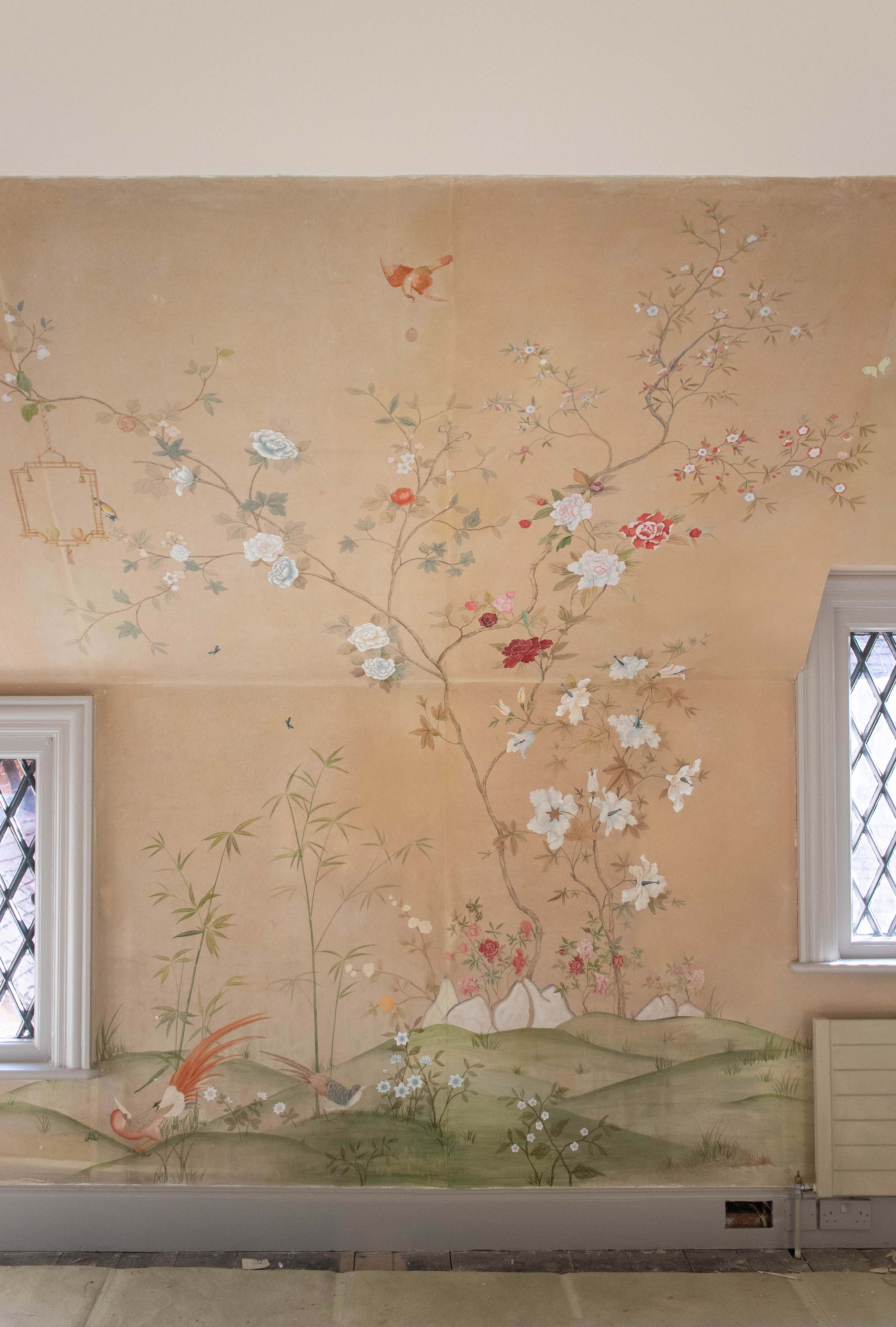 Antique Chinoiserie Restoration, Hampshire