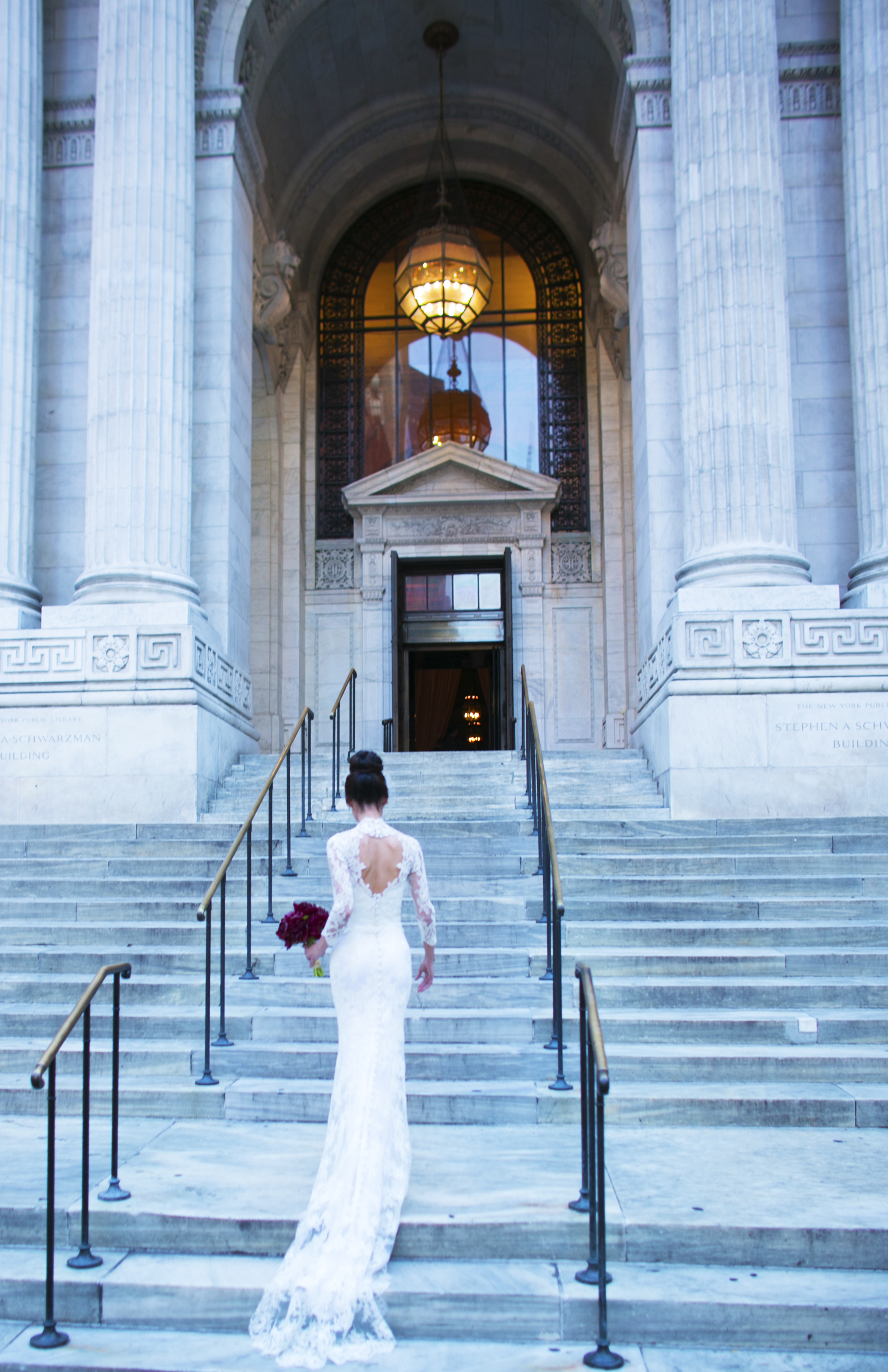 New York Public Library Wedding by Ang Weddings and Events