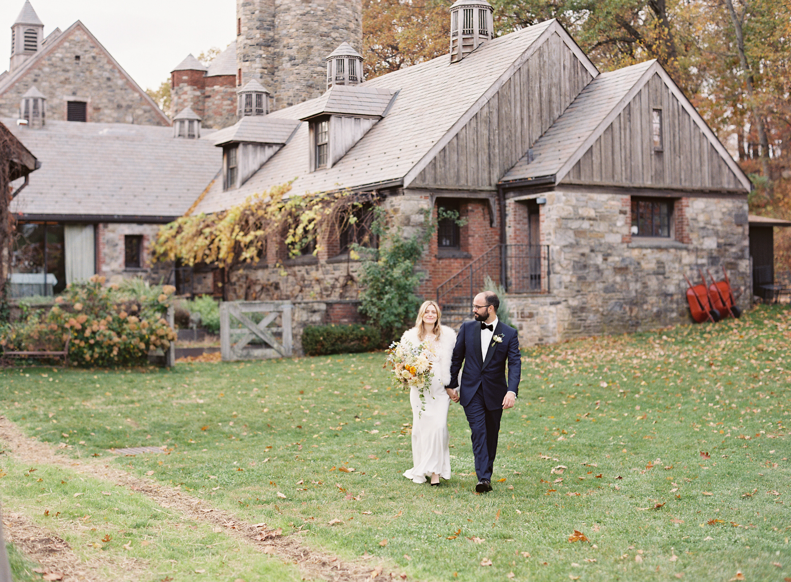 Blue Hill at Stone Barns wedding by Ang Weddings and Events