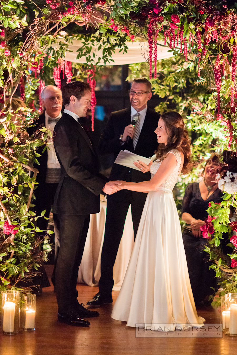 Liberty Warehouse Wedding | Wedding Planning Ang Weddings and Events | chuppah by Putnam and Putnam