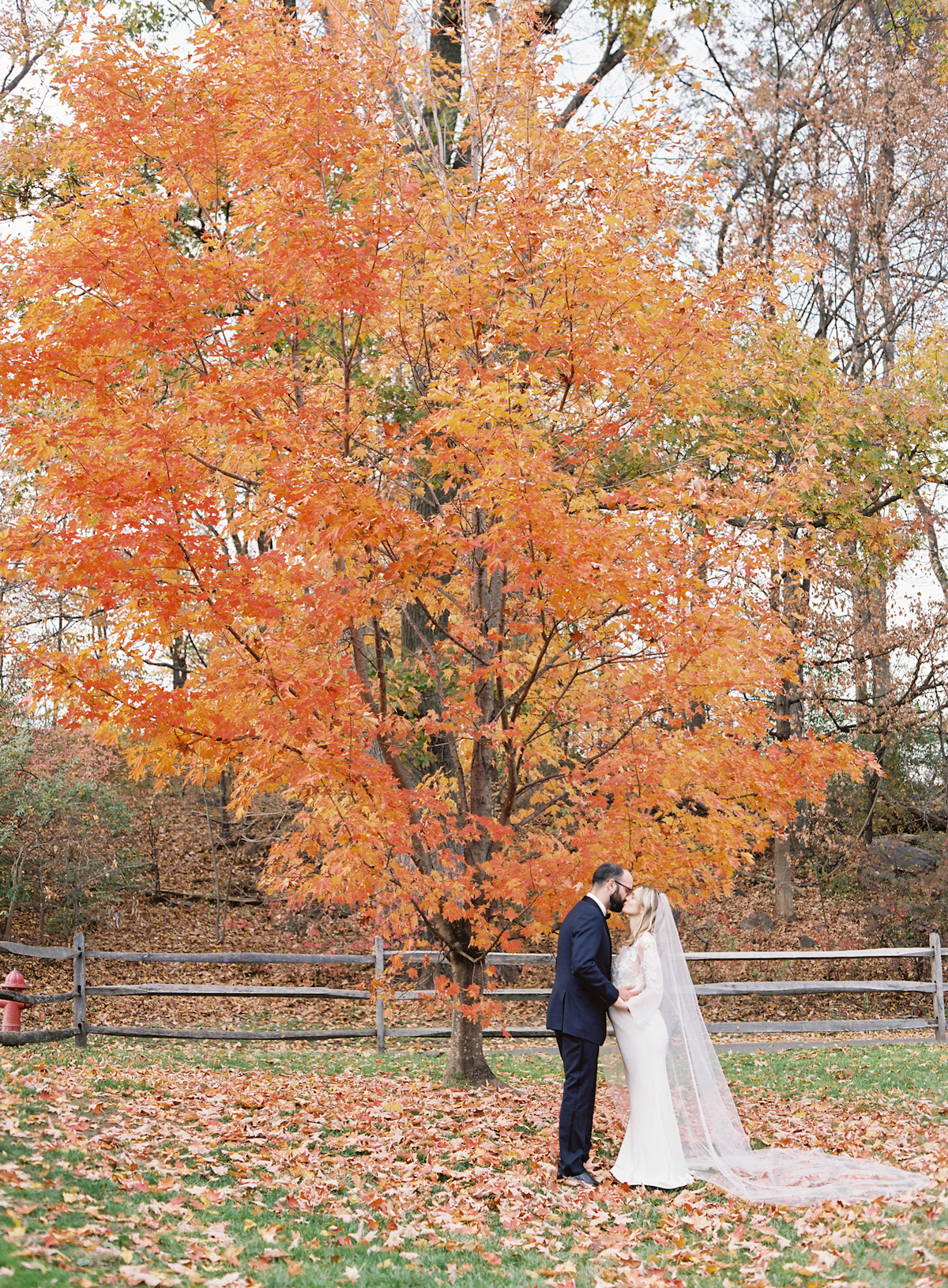 Blue Hill at Stone Barns wedding, event planner Ang Weddings and Events, photography Judy Pak, fall wedding