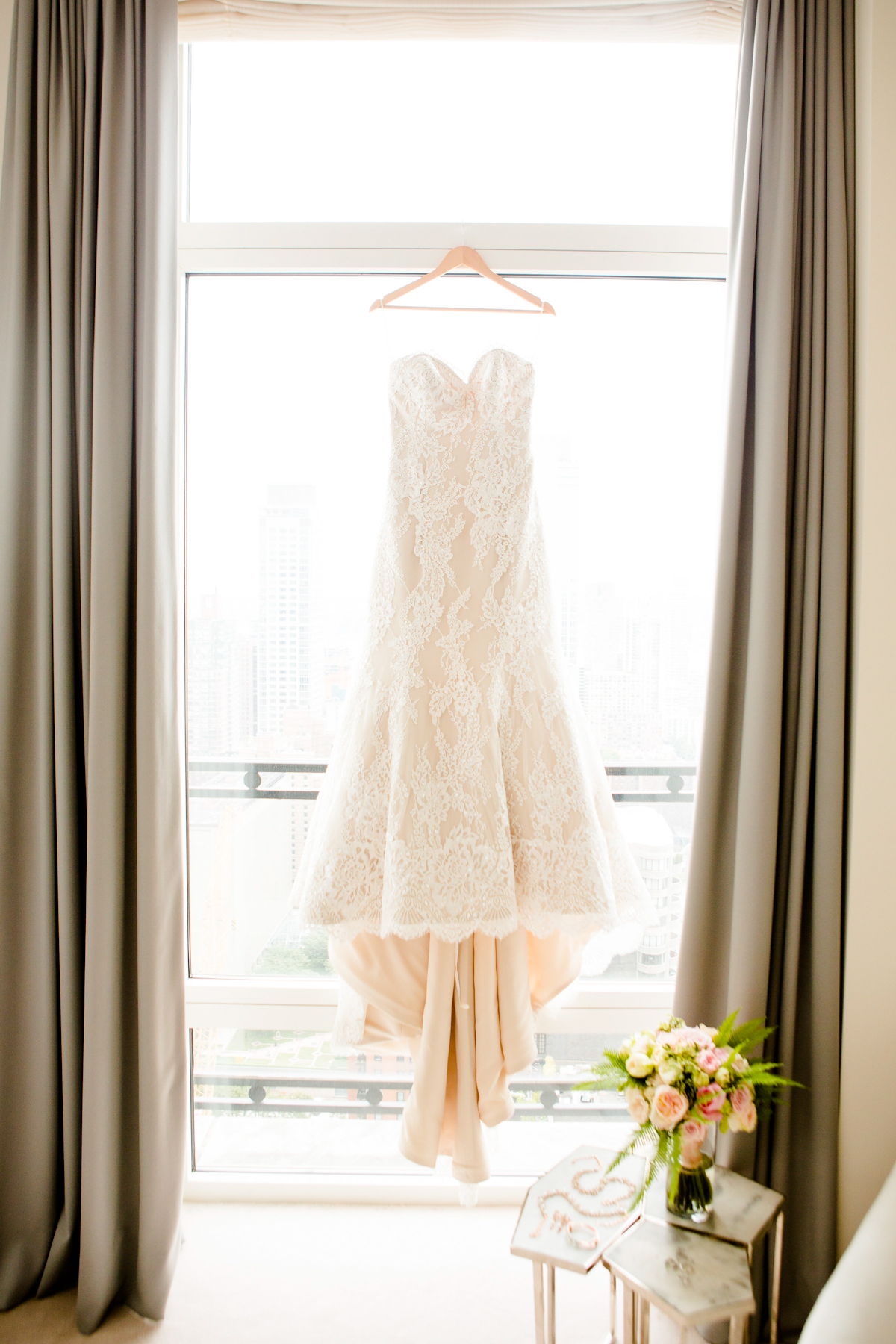 Rainbow Room Wedding, Ang Weddings and Events, Dave Robbins Photography, Kleinfeld Bridal gown