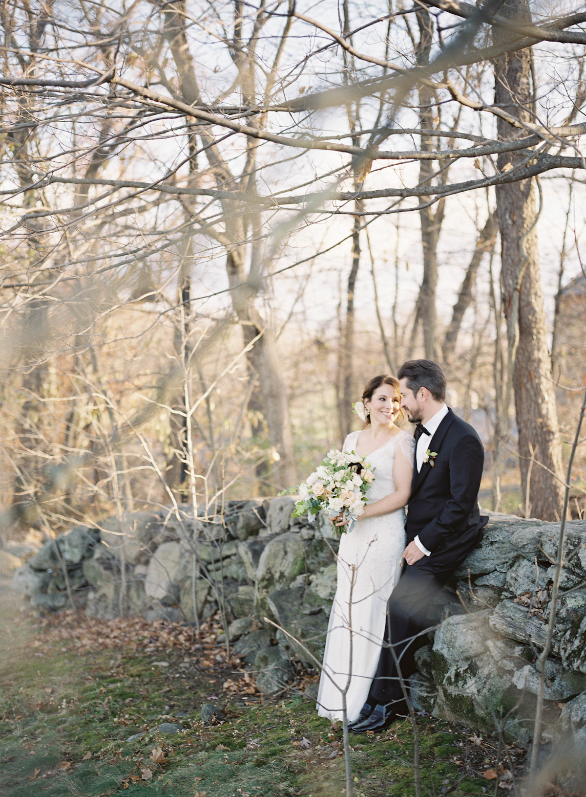 Blue Hill at Stone Barns Wedding,  Ang Weddings and Events, Judy Pak Photography, Saipua Flowers