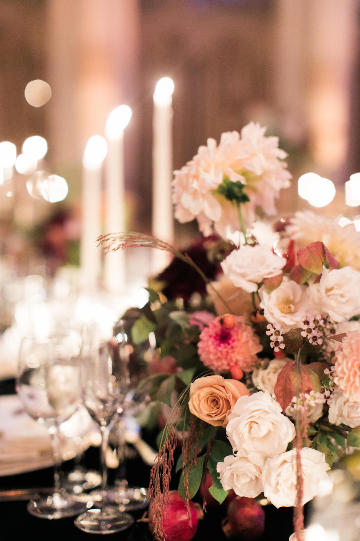 Plaza wedding flowers