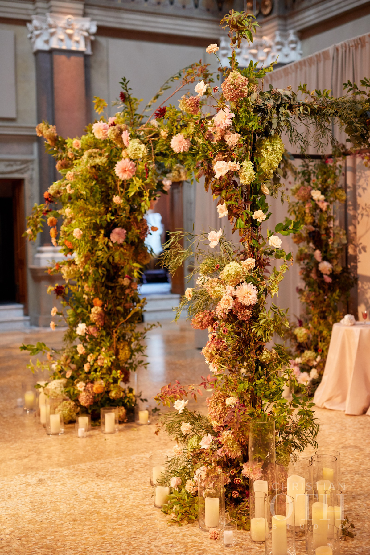 Weylin wedding, Ang Weddings and Events, Christian Oth Studios, Poppies and Posies chuppah