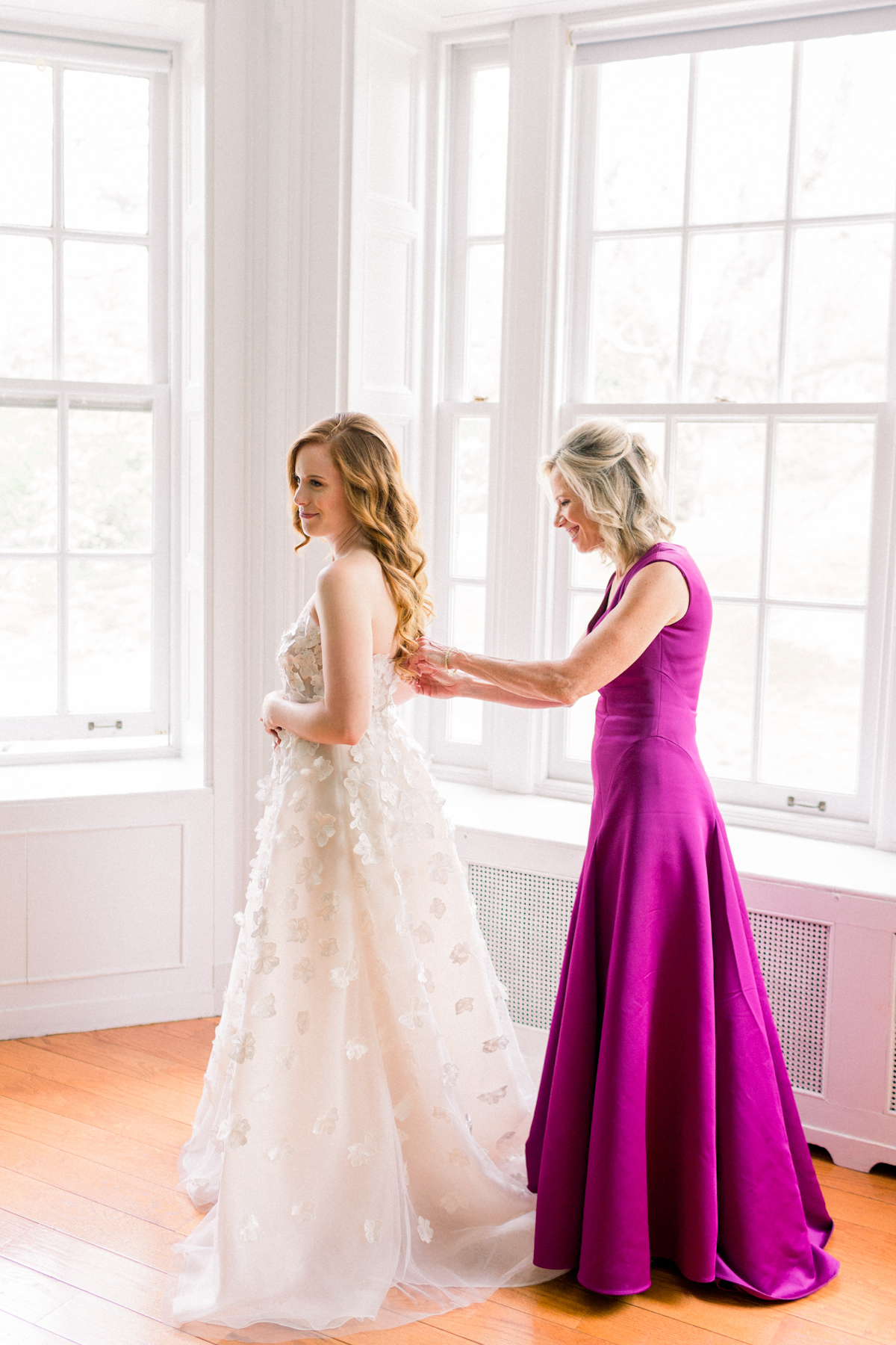Wave Hill Wedding, photography by Mademoiselle Fiona, wedding planning by Ang Weddings and Events, flowers by Denise Fasanello, gown by Lela Rose