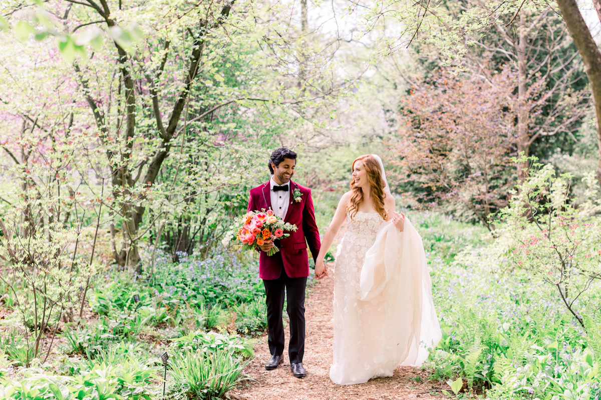 Wave Hill Wedding, photography by Mademoiselle Fiona, wedding planning by Ang Weddings and Events, flowers by Denise Fasanello