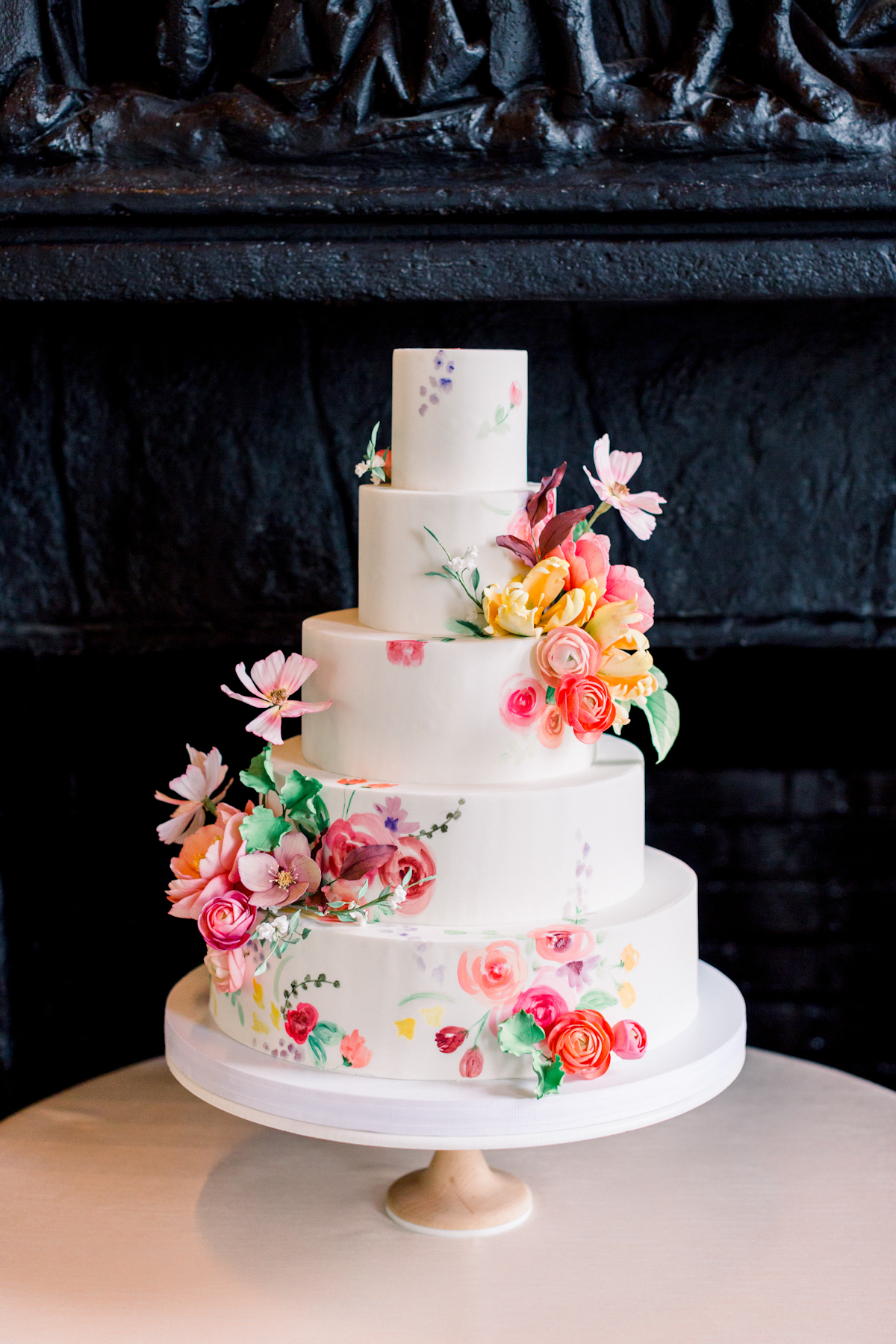 Wave Hill Wedding, photography by Mademoiselle Fiona, wedding planning by Ang Weddings and Events, flowers by Denise Fasanello, cake by Nine Cakes