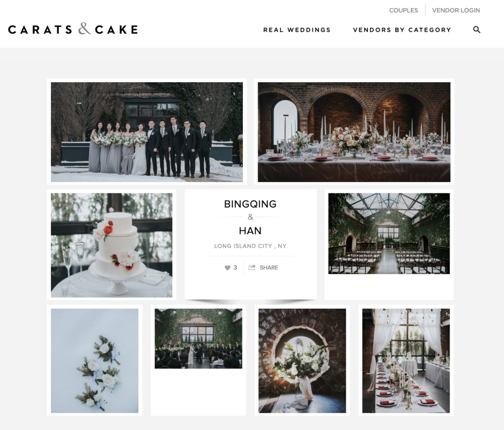 Carats & Cake Bingqing and Han at The Foundry— Ang Weddings and ...