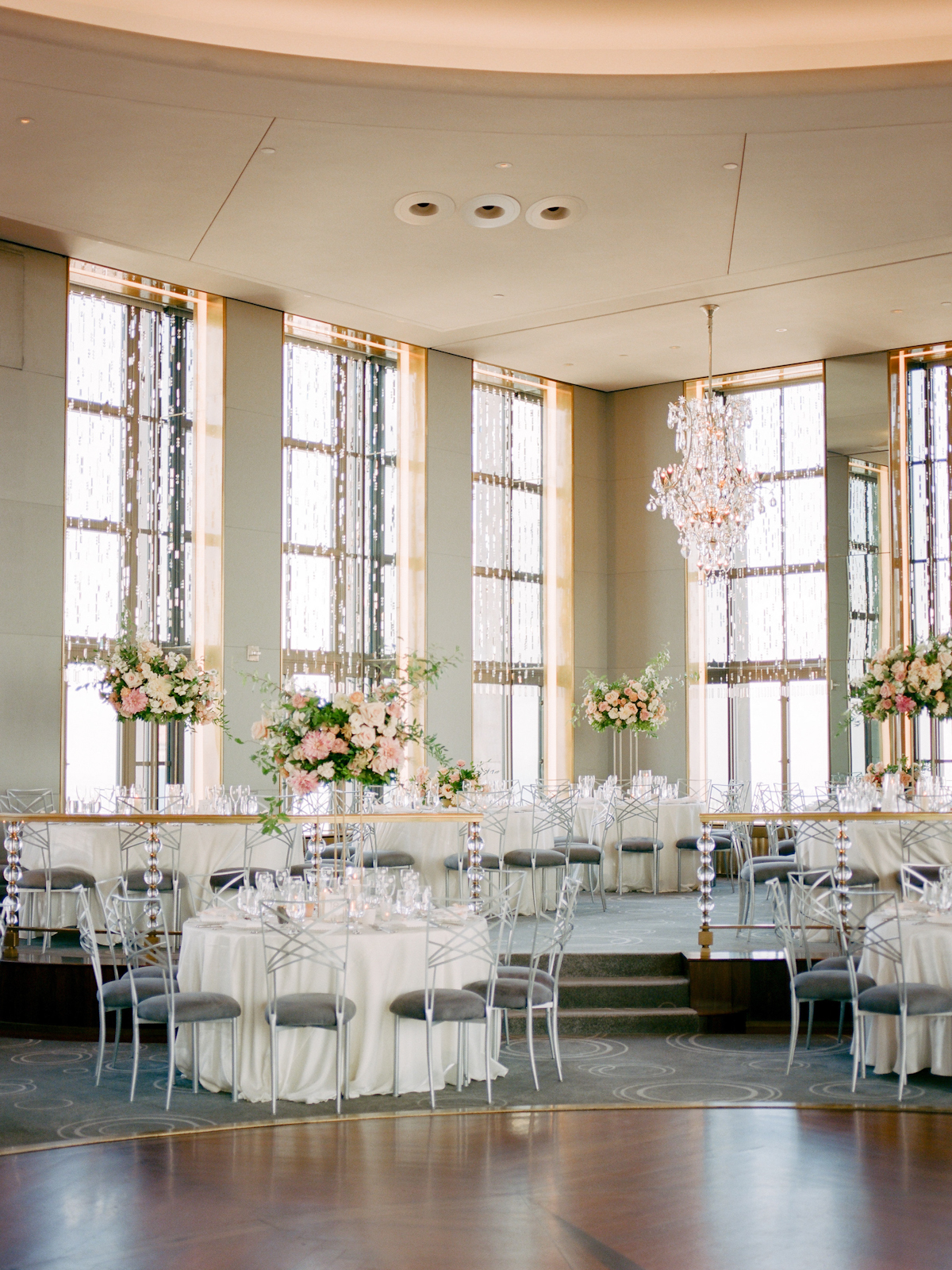 Rainbow Room wedding tablescape