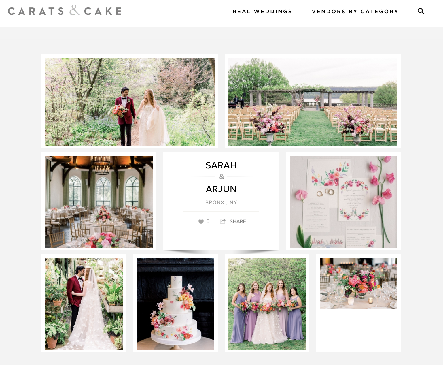 carats and cake wave hill wedding bright colourful.png