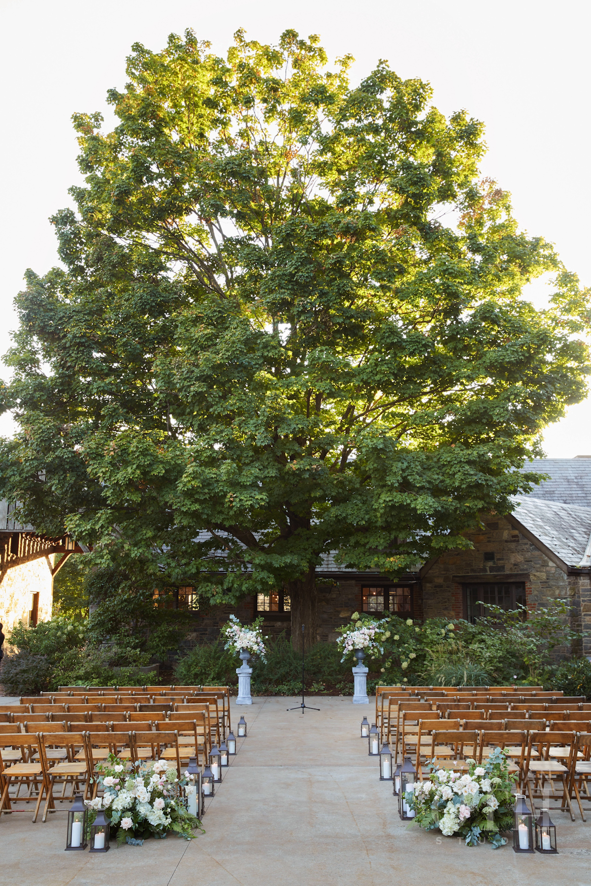 Elegant outdoor wedding at Blue Hill at Stone Barns