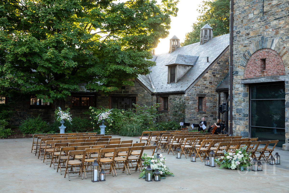 Outdoor wedding at Blue Hill at Stone Barns