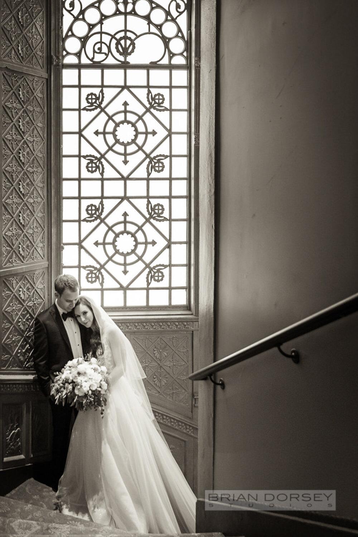 Cipriani wedding bride and groom