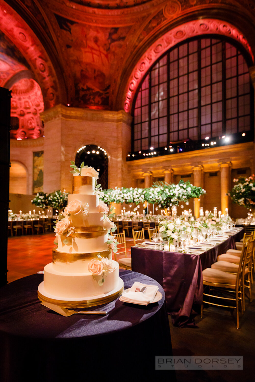 Cipriani 25 Broadway Wedding cake