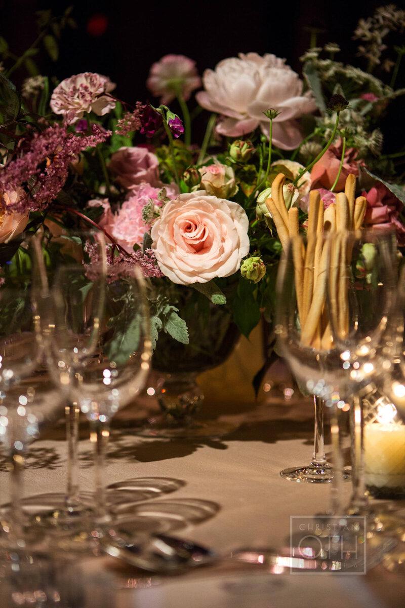 Cipriani Wall Street Wedding flowers