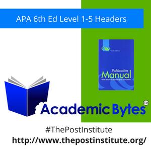 TPI AcademicBytes APA Headers.png