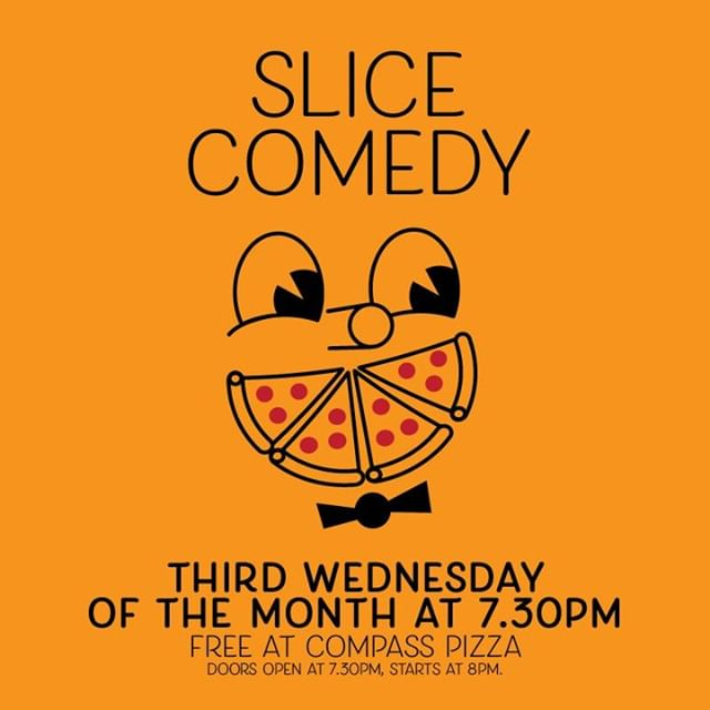 The second Slice Comedy show is this Wednesday night at 7:30pm! See you all around for some laughs and pizza 😎 . . . . .  #eastbrunswick #brunswick #brunswickbars #melbournebars #melbournebar #livemusic #gigs #music