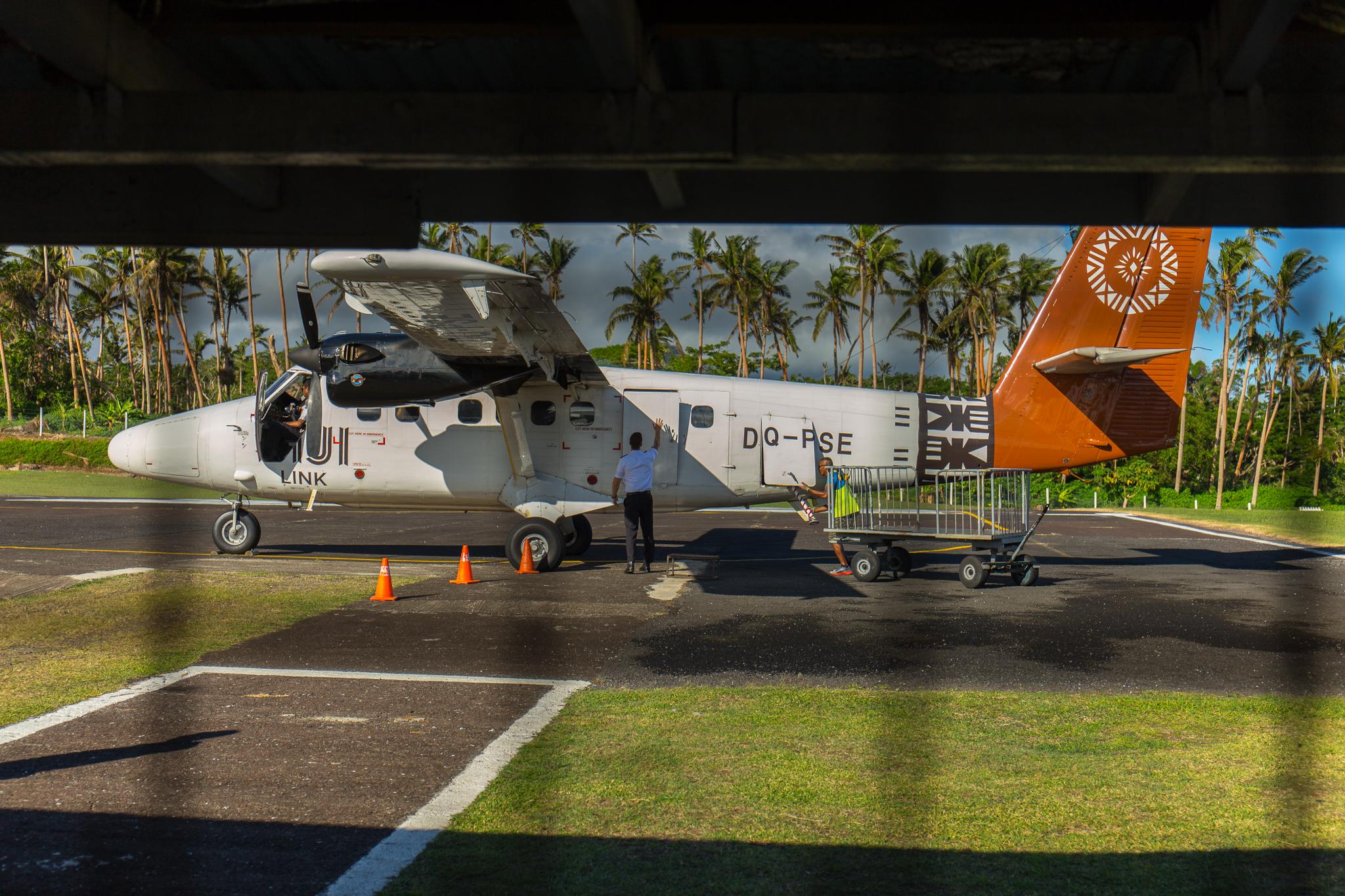 Taveuni island airport
