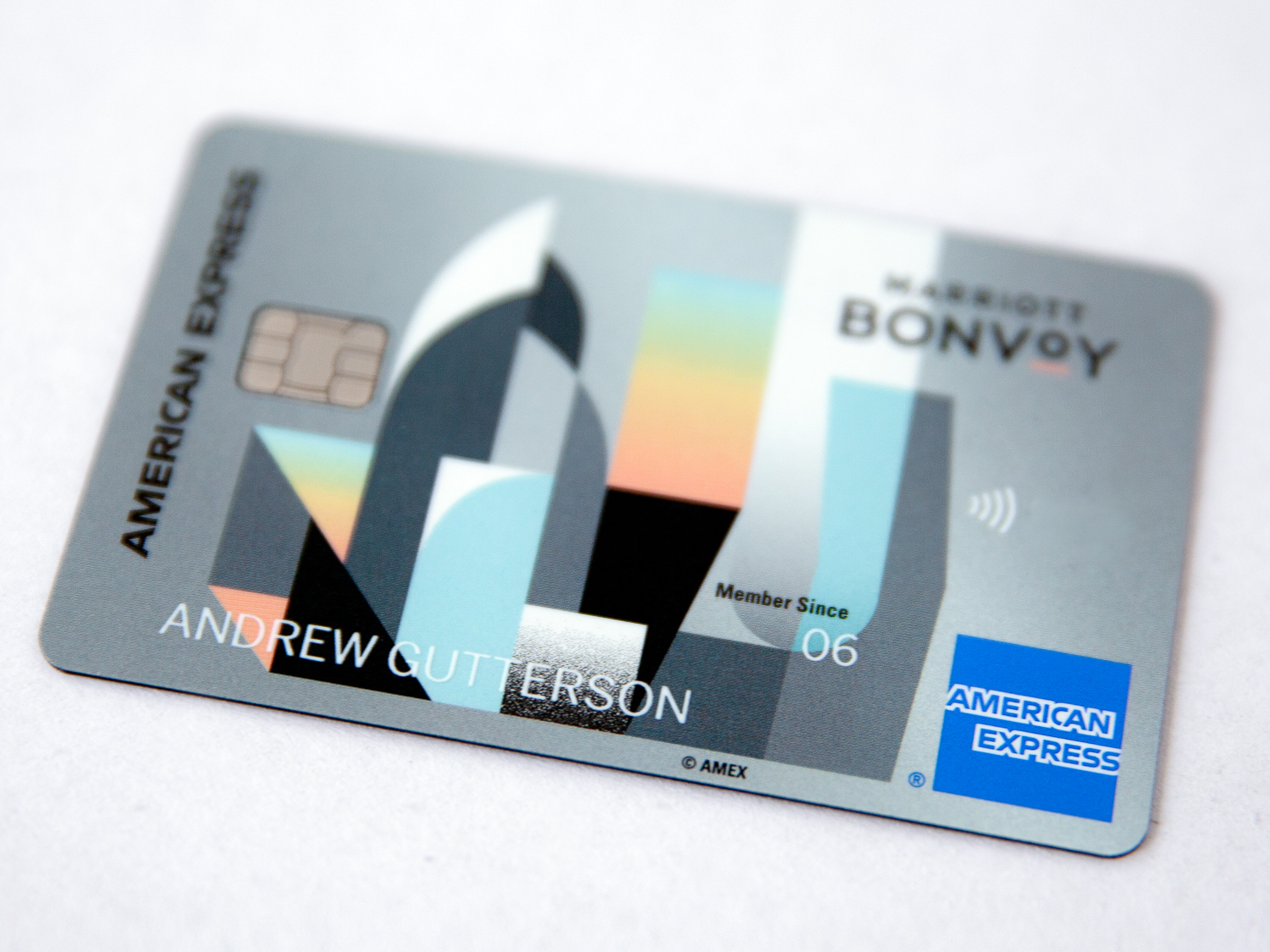 American Express Credit Card design, 2019
