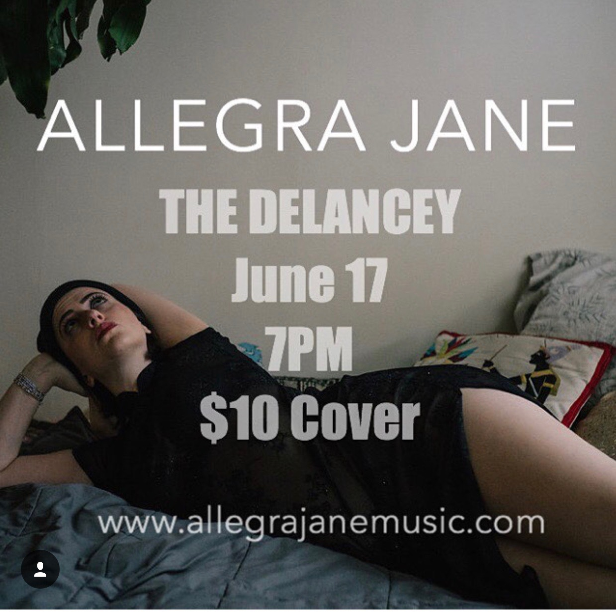 The Delancy - Allegra Jane performed an original set off her forthcoming EP